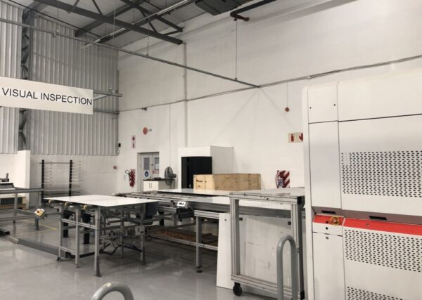 3S NGXL4222CP laminator and inspection
